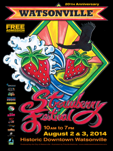 The 20th Annual Watsonville Strawberry Festival